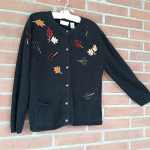 Fall Foliage Sweater